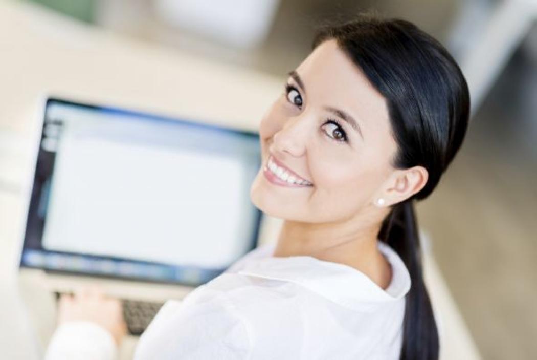 La sonrisa en una entrevista de trabajo